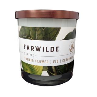 No. 28 Tomato Flower - Fig - Cedarwood