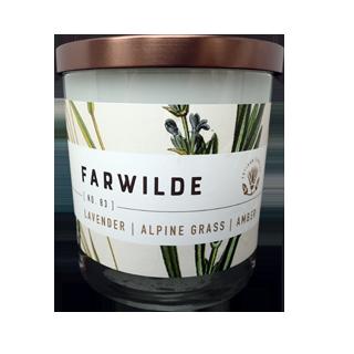 No. 83 Lavender - Alpine Grass - Amber